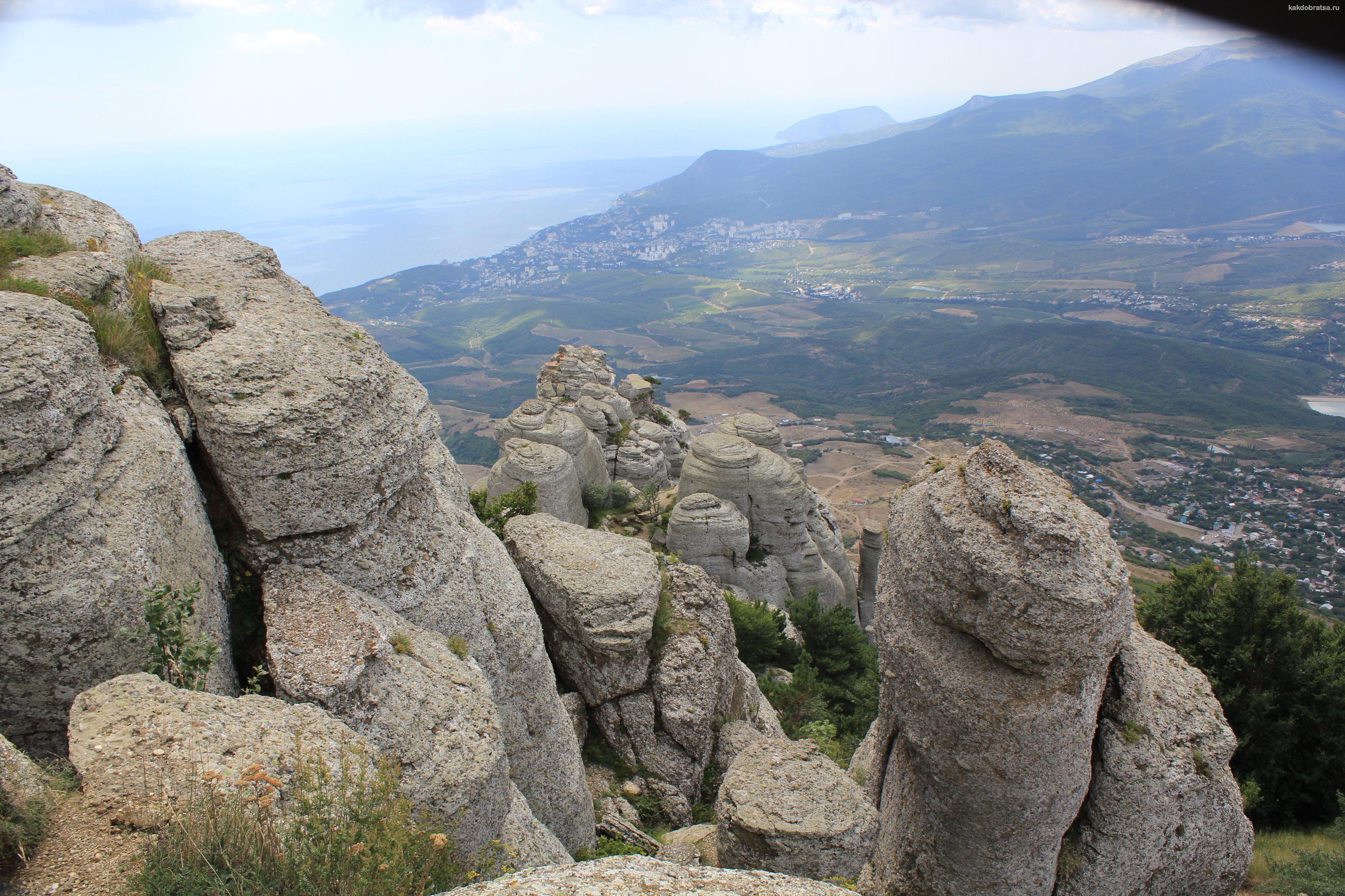 Долина приведений в Крыму