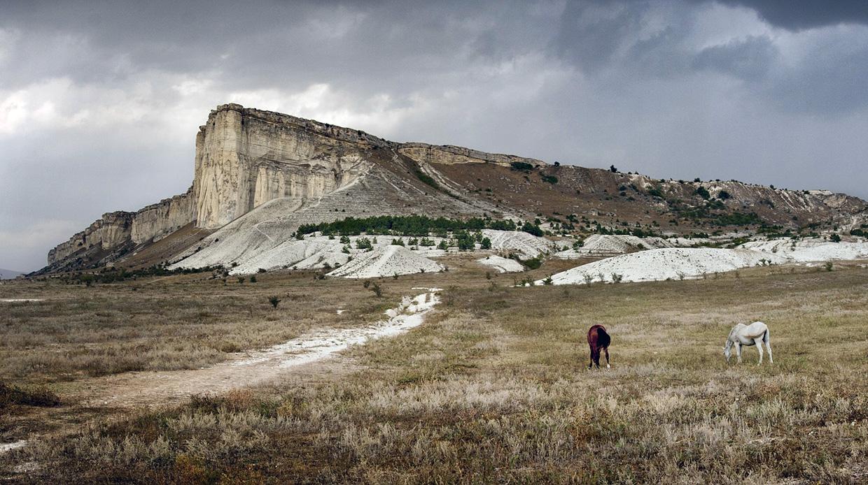 Белая скала небанальное место в Крыму для экскурсии
