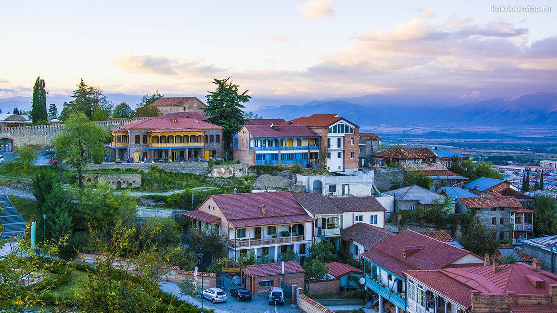 Как добраться из Тбилиси в Телави