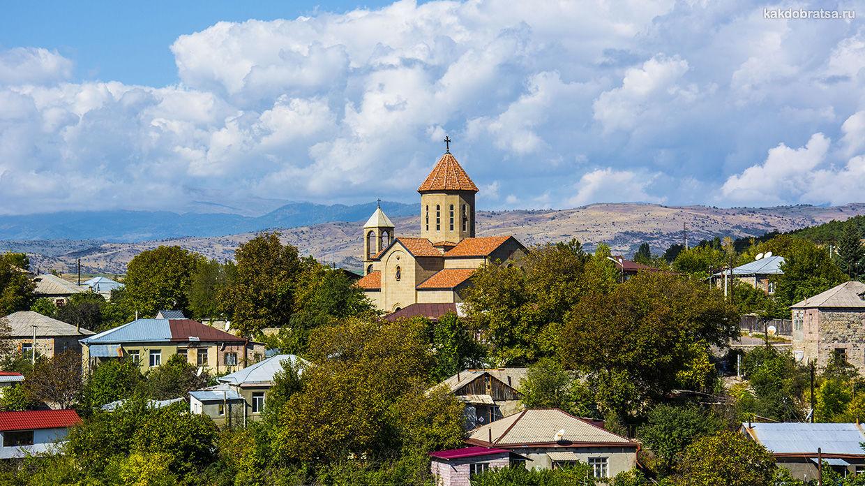 Маршрут путешествия по Закавказью: Азербайджан, Грузия и Армения