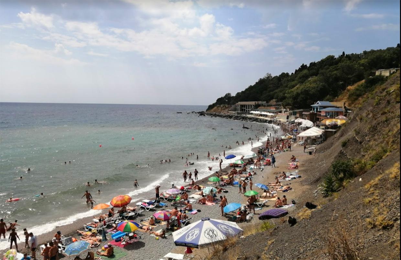Алупка городок в Крыму для пляжного отдыха