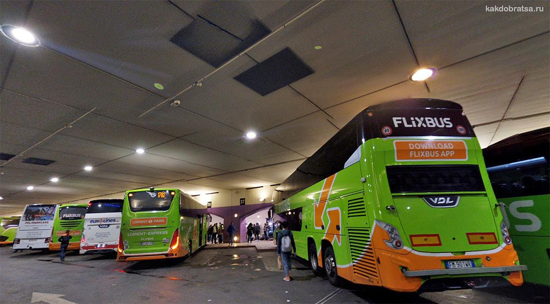 Дешевые автобусные билеты в Париж