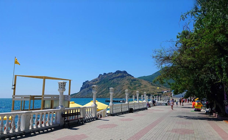 Коктебель город для пляжного отдыха в Крыму
