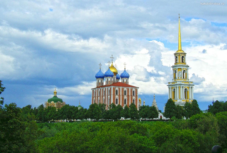 Древний русский город Рязань