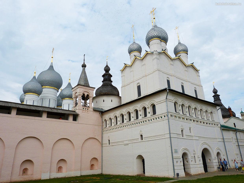 Древний русский город Ростов