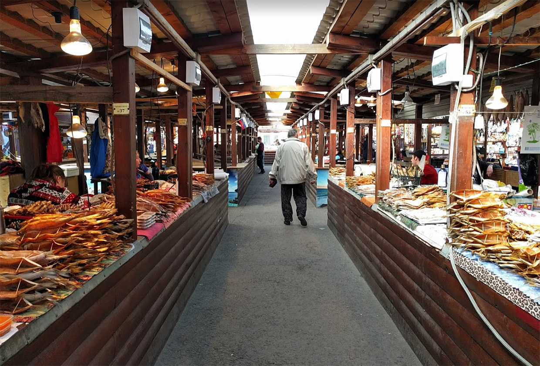 Байкальский Рынок в Листвянке