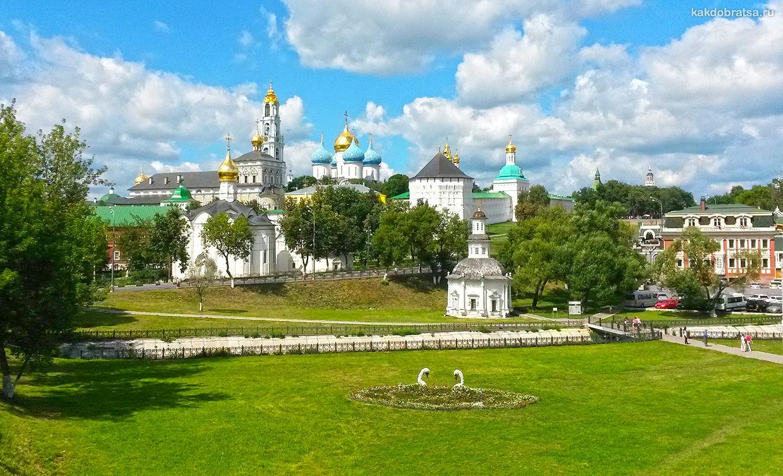Город Сергиев Посад на Золотом кольце