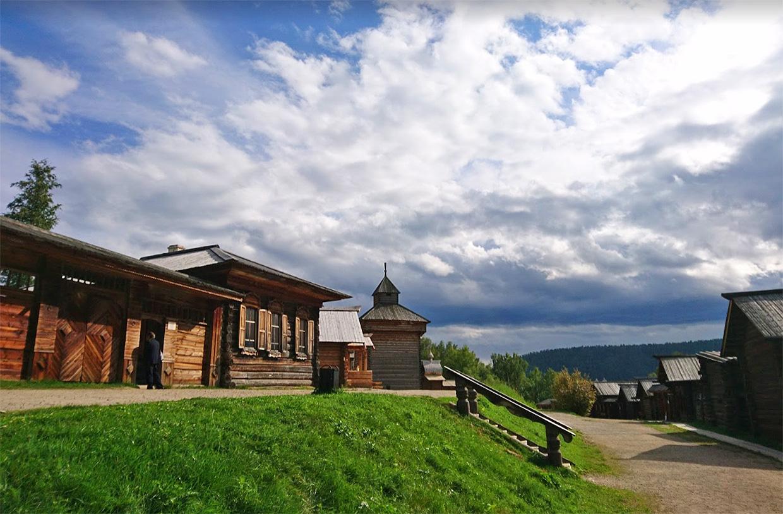 Музейный комплекс Тальцы на Байкале