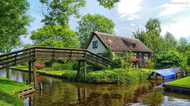 Как добраться из Амстердама в Гитхорн