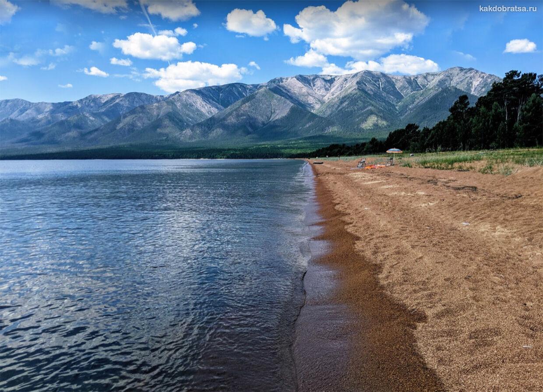 Баргузинский заповедник красивое место на Байкале