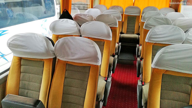 Автобус из Болгарии в Турцию