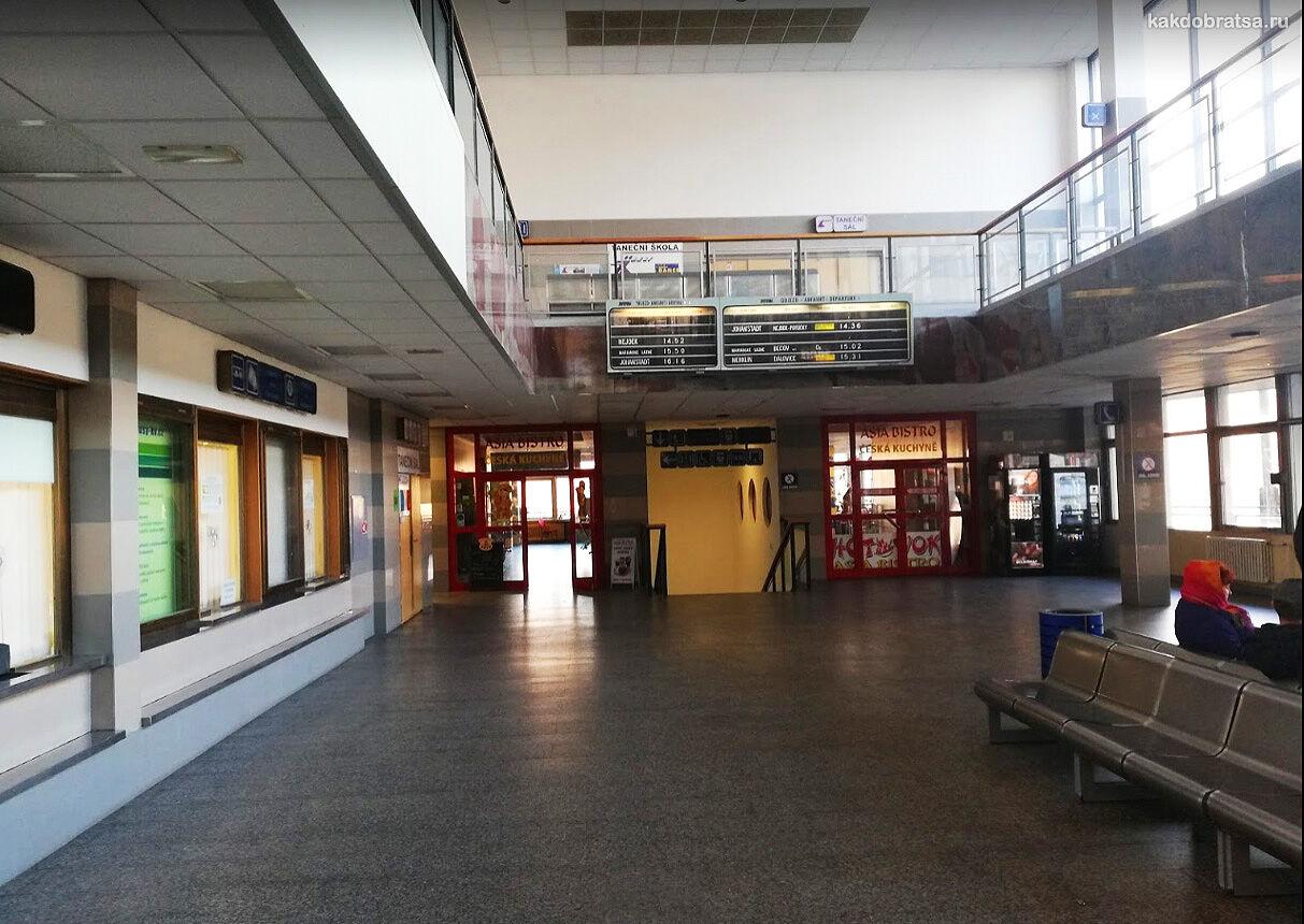 Автовокзал Карловы Вары услуги
