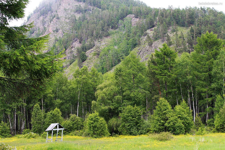 Гора Соболиная горнолыжный курорт на Байкале