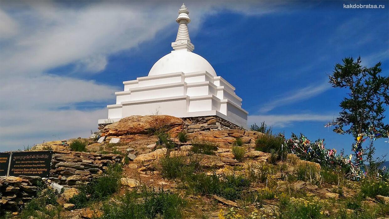 Буддийская Ступа Просветления на Байкале