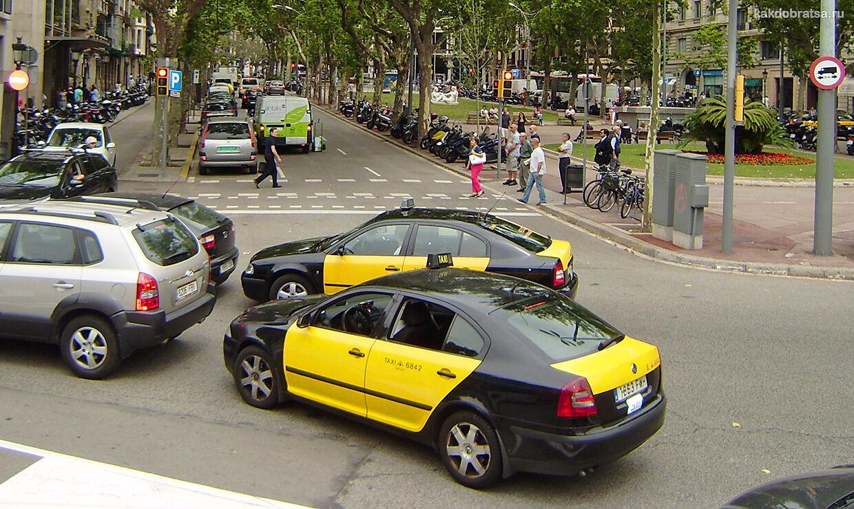 Такси в Испании