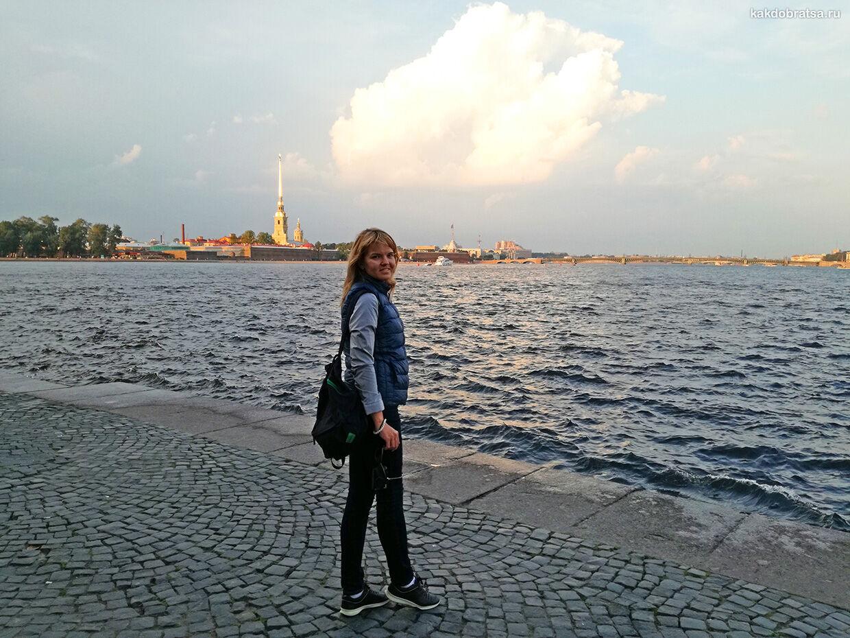 Турист в Санкт-Петербурге