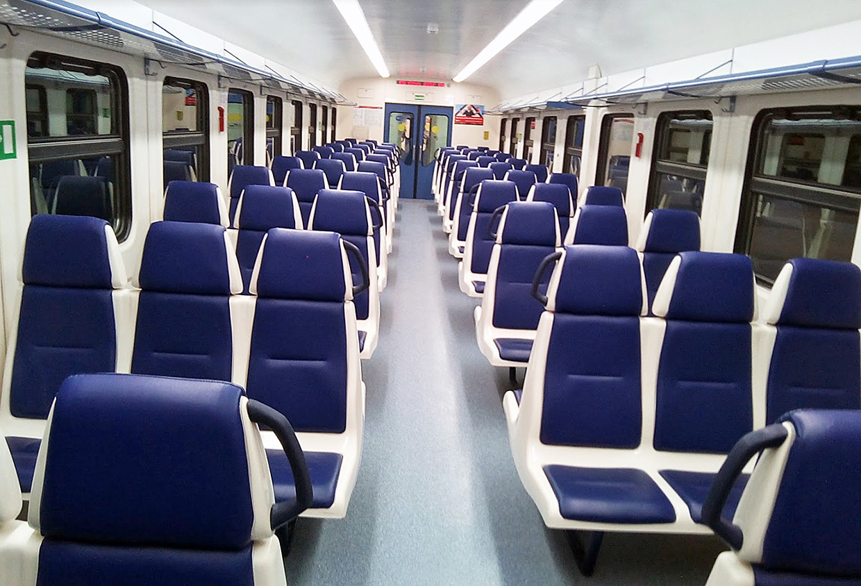 Поезд электричка аэроэкспресс из аэропорта Казани