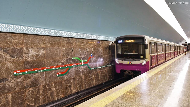 Баку метро