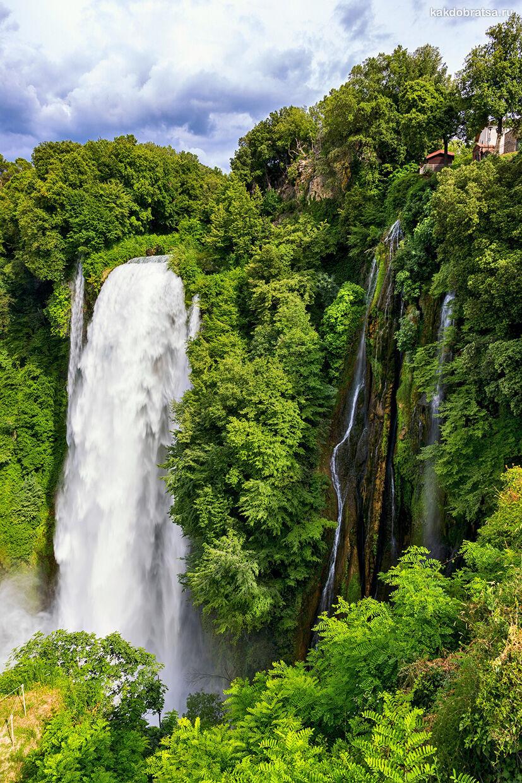 Водопад Марморе - природная достопримечательность Италии