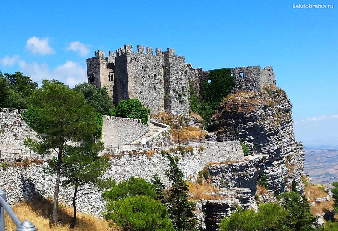 Крепость Венеры в Трапани