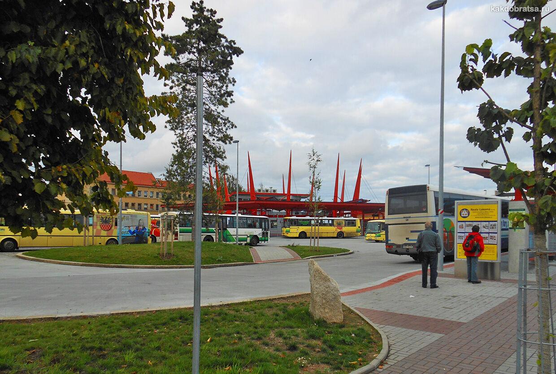 Хеб Чехия автовокзал