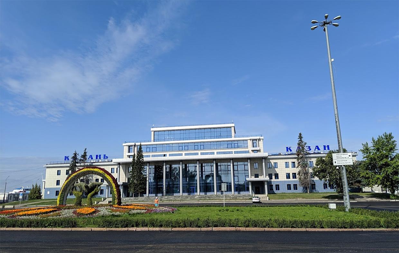 Казань речной порт