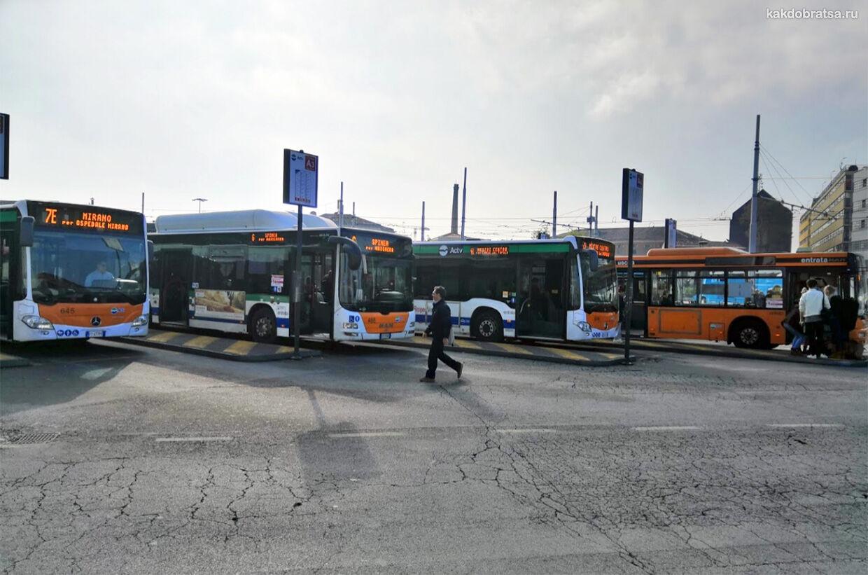 Автобус из Местре в Венецию