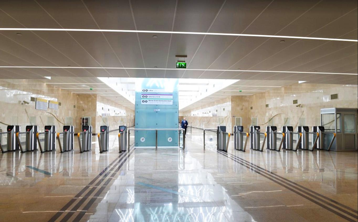 Станция метро Автовокзал в Баку