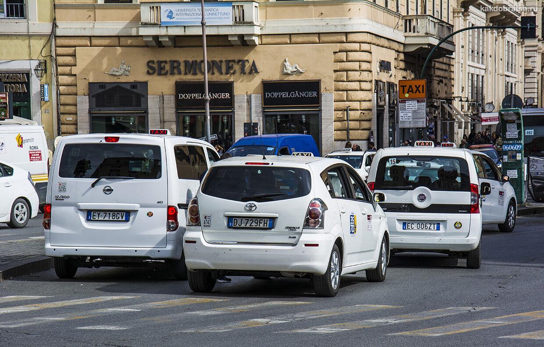 Недорогое такси трансфер из аэропорта Рима Фьюмичино и Чампино
