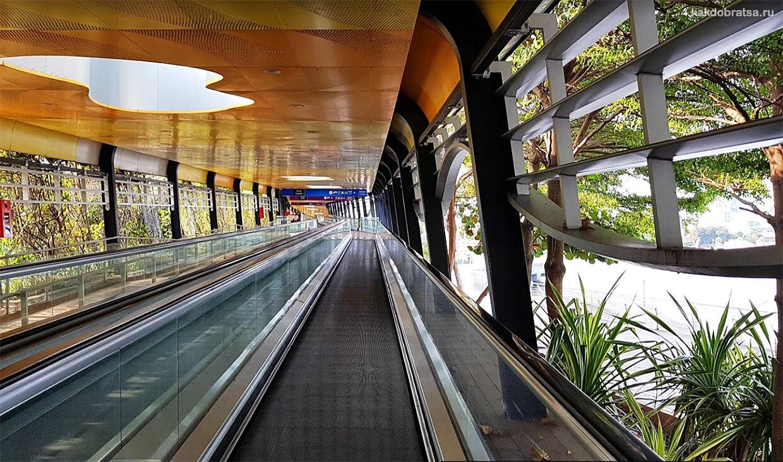 Из Сингапура на Сентозу мост