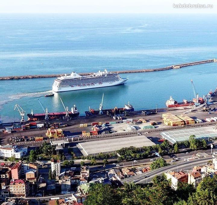 Трабзон порт