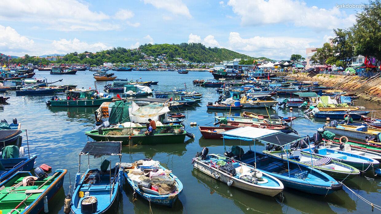 Как добраться до острова Ченг Чау в Гонконге