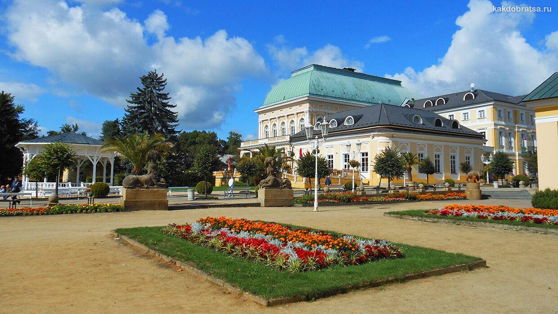Как добраться из Праги во Франтишковы Лазне