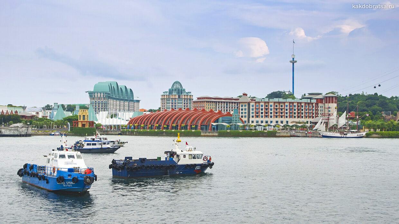 Как добраться до острова Сентоза из Сингапура
