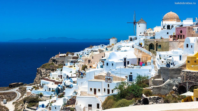 Санторини как добраться из Афин, Крита, Москвы и Родоса