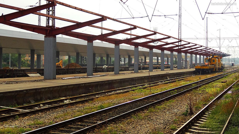 Центральный железнодорожный вокзал в Софии