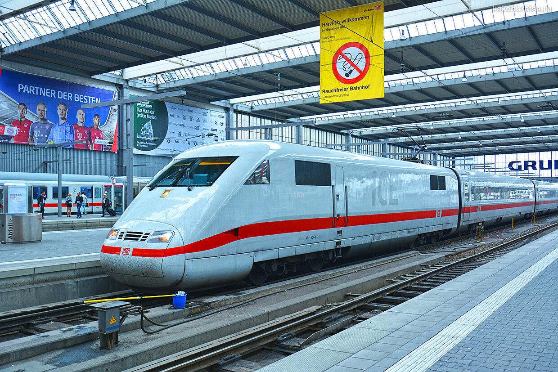 Поезд из Берлина в Мюнхен