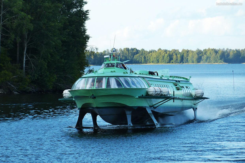 Экскурсии в Сортавале и по Ладожскому озеру