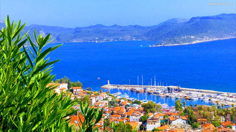 Каш городок в Турции как добраться