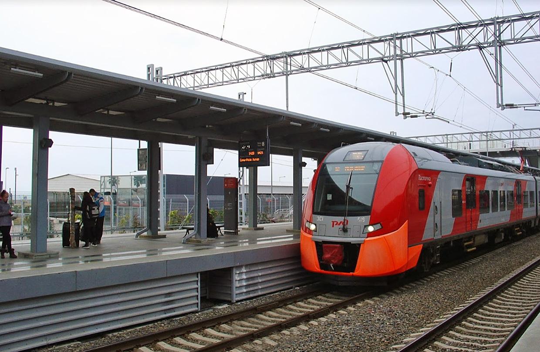 Аэропорт Сочи поезд, электричка, ласточка и аэроэкспресс