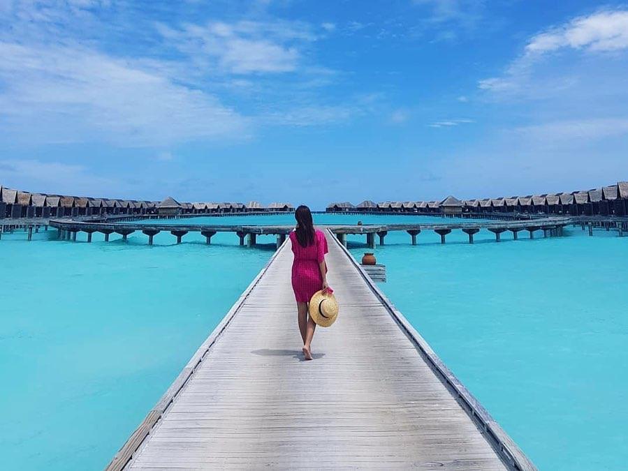 Anantara Kihavah Maldives Villas отель на Мальдивах где отдыхает Плющенко, Рудковская и Роналду