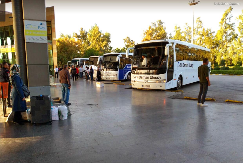 Автовокзал Анталии Отогар расписание и информация