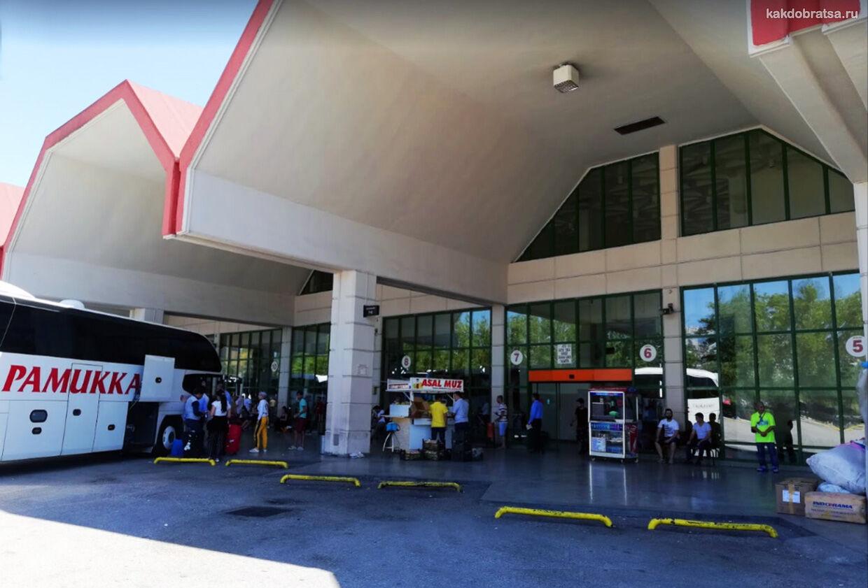 Автовокзал Анталии как добраться до аэропорта и и Лары