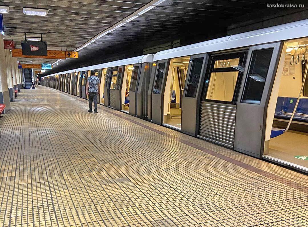 Бухарест метро подвижной состав