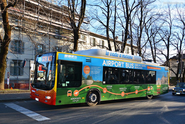 Автобус в Бергамо