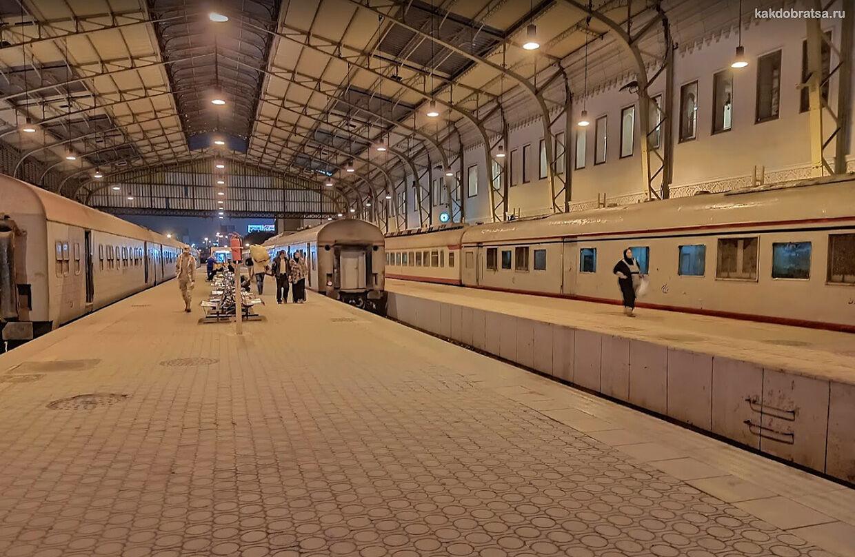 Главная жд станция Каира