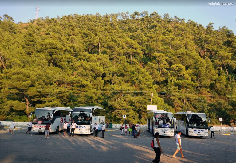 Междугородние автобусы в Мармарис