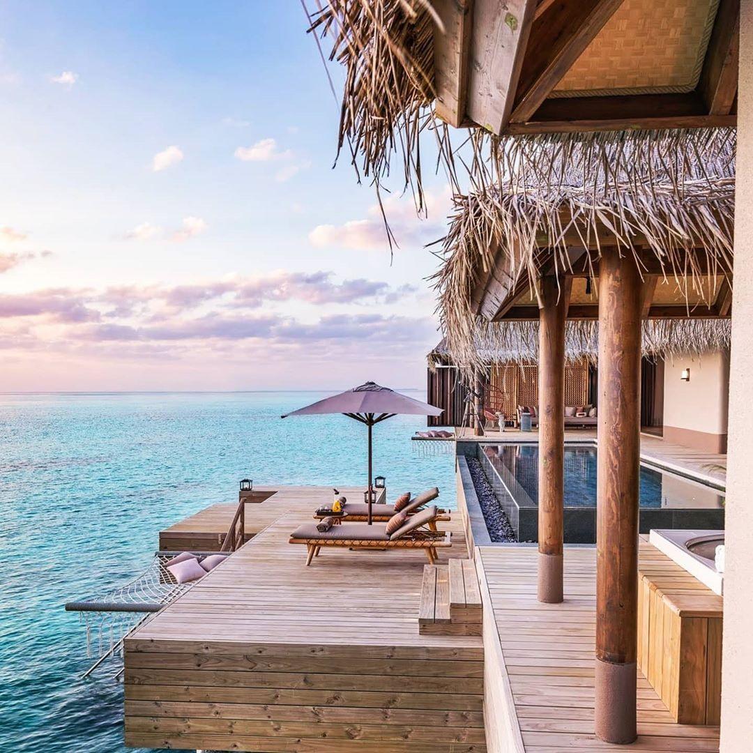 Joali Maldives отель на Мальдивах где отдыхает Навка и Песков