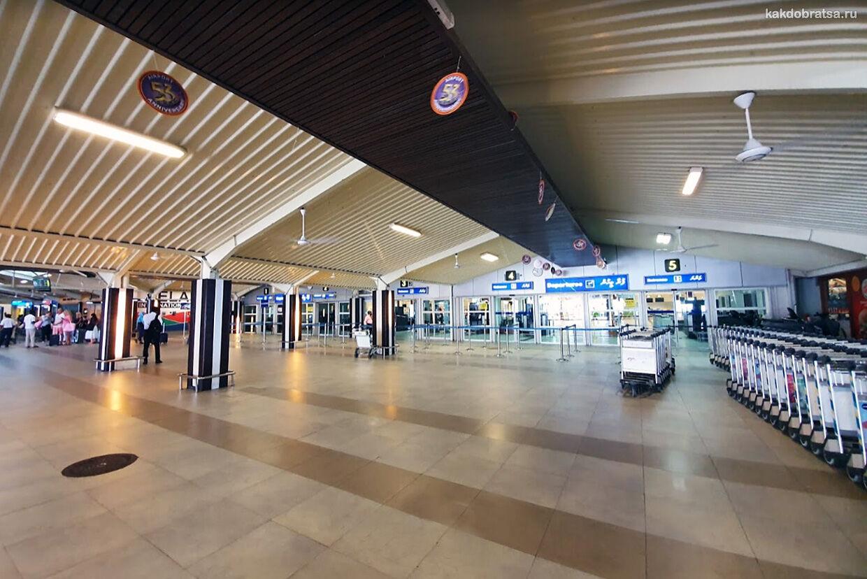 Аэропорт в Мале Мальдивы