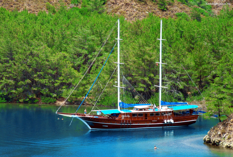 Мармарис кораблик прогулка экскурсия